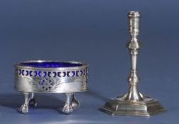 Two Small Georgian Silver Items