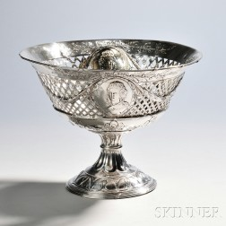 German Silver Compote