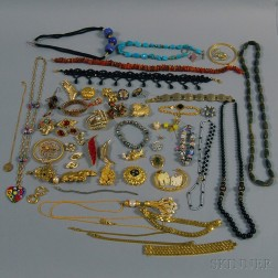 Group of Miscellaneous Costume Jewelry