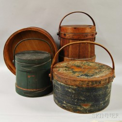 Large Shaker Measure, Two Buckets, and a Storage Box