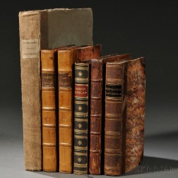 Travels to the Near East, Classics, and Others, Six Volumes.