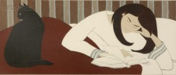Will Barnet (American, b. 1911)      The Reader