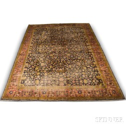 Indo-Sarouk Carpet,