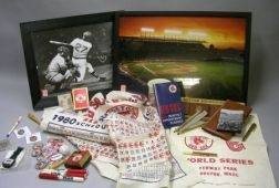 Group of Boston Red Sox Souvenirs and Collectible Items