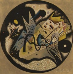 After Wassily Kandinsky (Russian, 1866-1944)      Plate