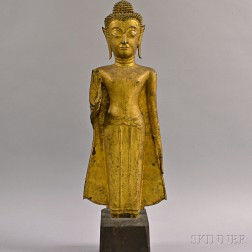 Southeast Asian Gilt-bronze Buddha