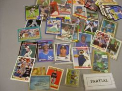 Collection of 1980s and 1990s Baseball and Sports Cards