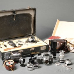Leica M2 and Accessories