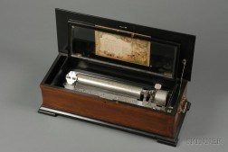 Piccolo Cylinder Musical Box by Mermod Freres