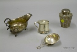 Four American Sterling Silver Table Articles