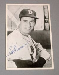 Ted Williams Autographed Photograph.