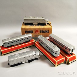 Lionel Train Union Pacific Passenger Set #1464W