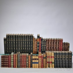 Decorative Bindings, Approximately Sixty-three Volumes.