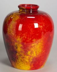 Royal Doulton Flambe Jar