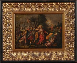 Continental School, 16th Century Style      The Betrayal of Christ