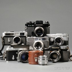 Six Japanese 35mm Cameras