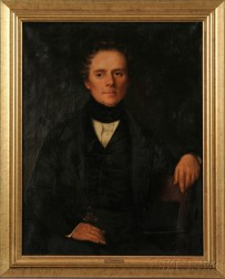 Charles Beatson (British, 19th/20th Century)      Portrait of James Keighley, Copied after the Original by Mr. Scott