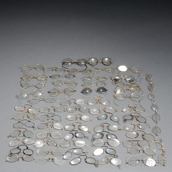 """Collection of 19th and Early 20th Century Spectacles or """"Eyeglasses,"""""""