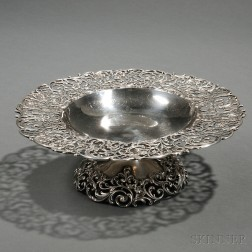 Theodore Starr Sterling Silver Compote