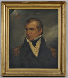 American School, 20th Century, after Ary Sheffer (1795-1858)      Portrait of Commodore Charles Morris