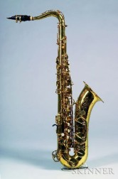 French Tenor Saxophone, Henri Selmer, Paris, 1973, Model Mark VI