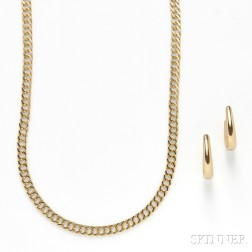 Two 14kt Gold Jewelry Items