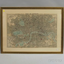 Reynold's Distance Map of London with the Recent Improvements