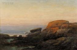 Bryant Chapin (American, 1859-1927)      Rocks at Newport