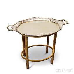 Silver-plated Tray Table