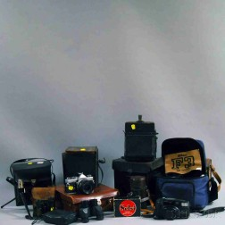 Collection of Cameras and Binoculars