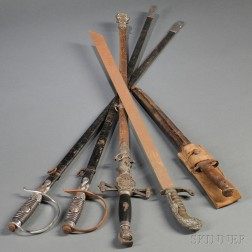 Five Bladed Weapons
