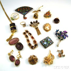 Small Collection of Estate and Costume Jewelry