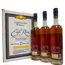 Buffalo Trace Antique Collection Eagle Rare 17 Years Old 2013, 3 750ml bottles (oc)