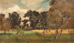 Charles Henry Miller (American, 1842-1922)      Field in Early Autumn