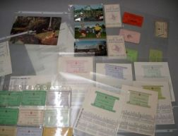 Collection Boston Red Sox Fenway Park Season Passes, a Boston Braves Season Pass and a Group of Winter Haven, Florida Spring Training C