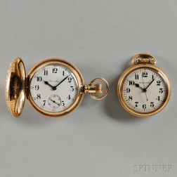 Two Hamilton Gold-filled Watches