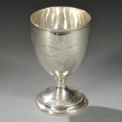 George III Sterling Silver Goblet