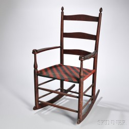 "Shaker Production ""1"" Rocking Chair"