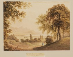 Attributed to William Pars (British, 1742-1782)      Part of the Lower Lake of Killarney from Knockrea.