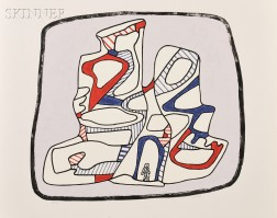 Jean Dubuffet (French, 1901-1985)      Immeuble