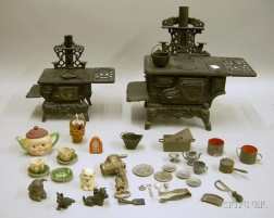 Group of Toy Kitchen Items
