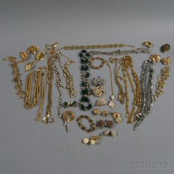 Small Group of Assorted Costume Jewelry