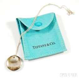 Tiffany & Co. Sterling Silver Pendant and Necklace
