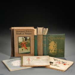 Rackham, Arthur, Illustrator (1867-1939) Three Volumes, and Four Other Children's Books.