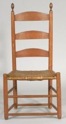 "Shaker Maple and Ash ""Tilter"" Side Chair"