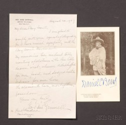 (Boy Scouts of America), Two Autographs