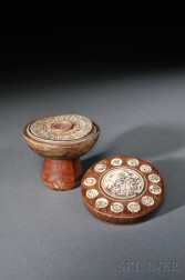 Wood Fengshui   Covered Compass