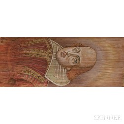 Fore-edge Paintings, Shakespeare, Two Volumes.