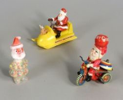 Two ChristmasToys and a Candy Container