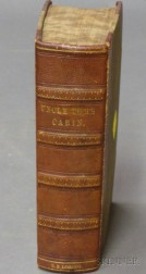 Stowe, Harriet Beecher, Uncle Tom's Cabin or, Life Among the Lowly